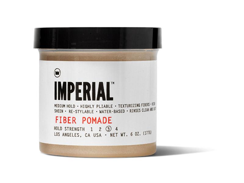 cire coiffante - marque Imperial Barber - Fiber Pomade