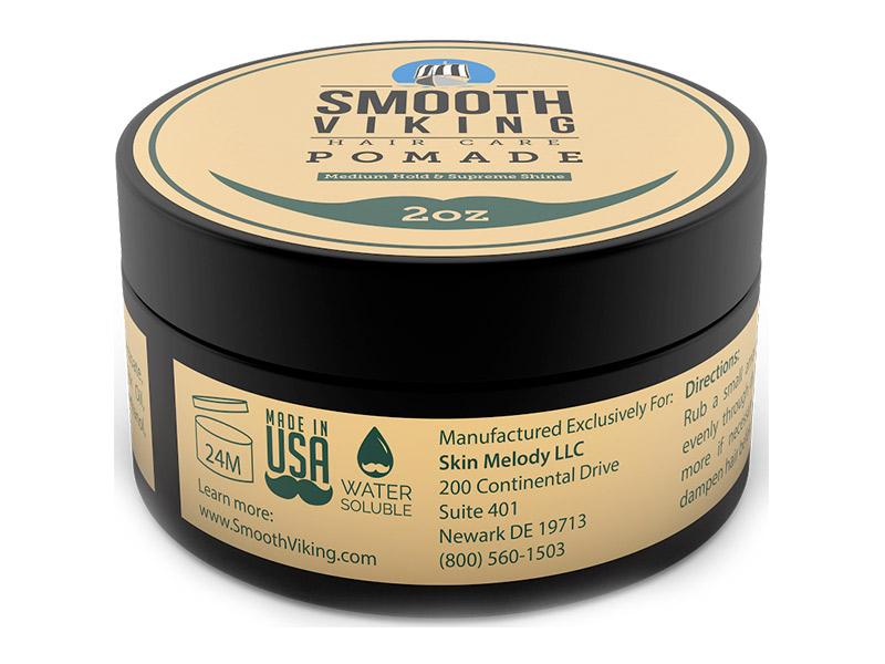cire coiffante - marque Smooth Viking - Pomade - Medium Hold