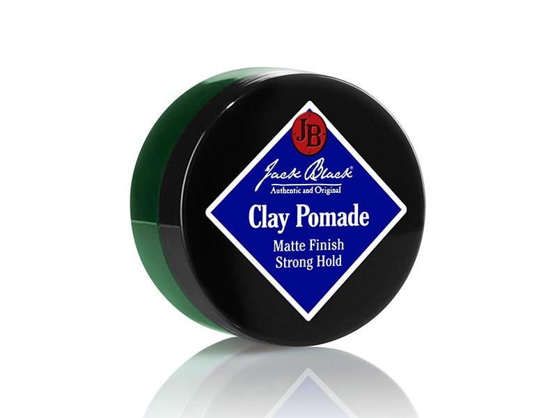 cire coiffante - marque Jack Black - Clay Pomade